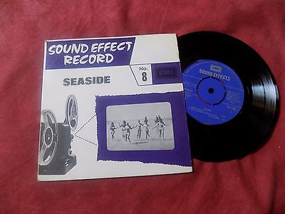 "SOUND EFFECTS: Seaside 7"" EASY EXOTICA"