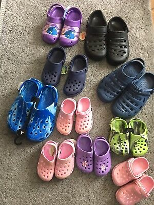 Joblot 10 Pairs Unisex & Kids Clogs  Bnwt