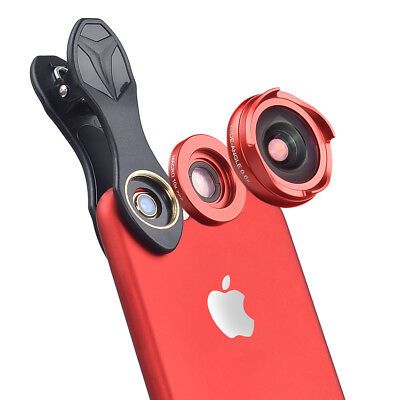 lens 4k HD Moblie Phone Lens Wide Angle Macro lens for iPhone 5s 6s 7/