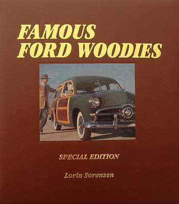 LIVRE/BOOK : FORD WOODIES - SPECIAL EDITION  (voiture collection bois,oldtimer