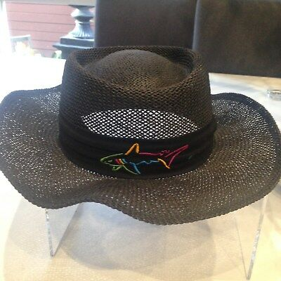 Greg Norman Black Shark Akubra Style Hat