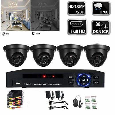 8CH 720P Outdoor Digital DVR CCTV Camera Security Guard System Waterproof  Best