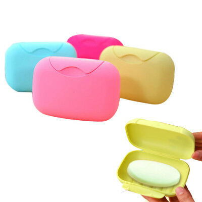 Soap Box Shower Plate Hiking Bathroom Home Case Container Travel Holder Dish HOT