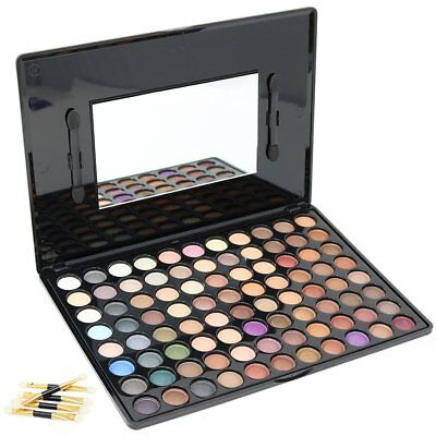 "Make Up Lidschatten Palette ""Pro Eye Shadow"" 88 Farben mit 7 Applikatoren"