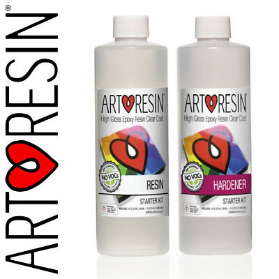 ArtResin® Clear Epoxy Coating Art Resin for Artwork and Photos 946ml Starter Kit