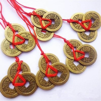 Chinese Feng Shui Coins For Wealth And Success Lucky Ching Brass Coins