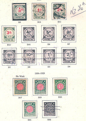 New Zealand Mint/Used. Early  Postage Dues...........NZ.26a