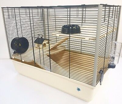 Langham Large Hamster Rat Ferret Small Animal Cage With FREE Water Bottle NEW