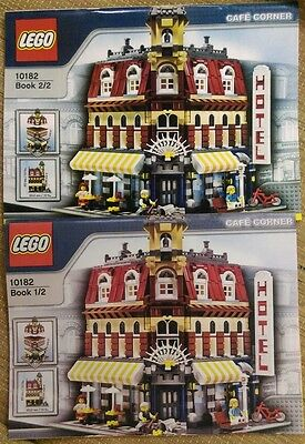 Replacement Custom Instruction Book For Lego 10182 Cafe Corner