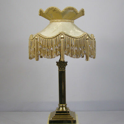 Victorian Vintage Beaded Lampshade