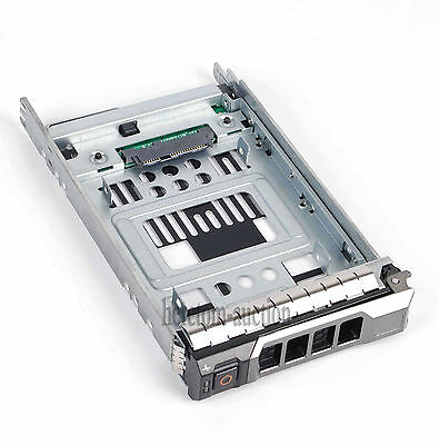 """2.5"""" to 3.5"""" HYBRID SAS Sata SSD Tray Caddy Adapter For Dell T710 R630 R730 T620"""