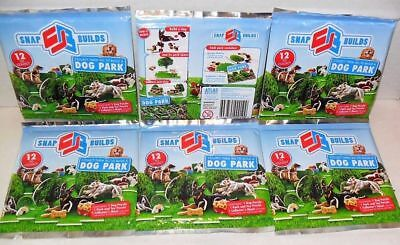 Snap Builds Dog Park (Puzzle Pieces)  -  PACK LOT OF (6) NEW SEALED