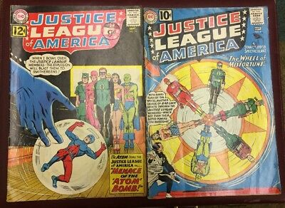 DC Comics Justice League Of America #6 & #14 G/VG Cents Issue 1 Price For Both