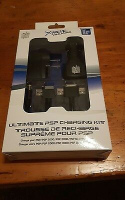 Xtreme Gaming Ultimate Charging Kit for PSP and PS Vita