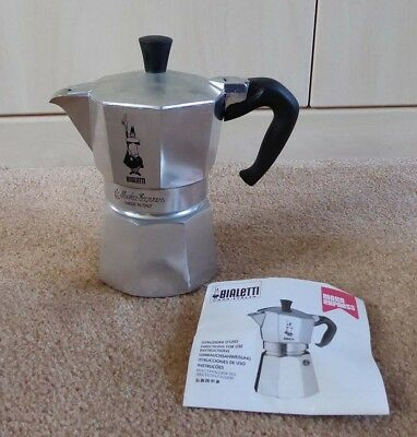 Bialetti Moka Express - New With Instructions