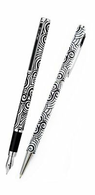 Ballpoint and Fountain Pen Set, Celtic Triskele Force, Gifts for Men, Xmas 0055S