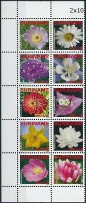 Namibia stamp Flower corner block of 10 MNH 2009 Mi 2345-2354 WS245455