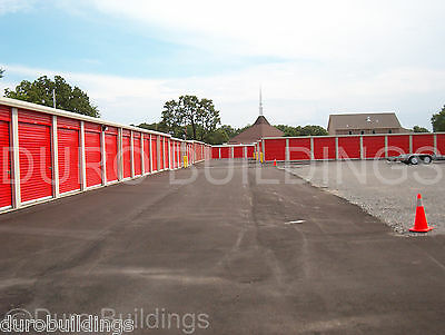 DURO Steel Mini Self Storage 40x120x8.5 Metal Buildings Prefab Structures DiRECT