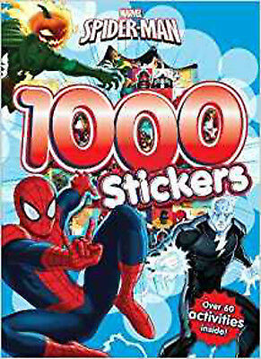 Marvel Spider Man 1000 Stickers Over 60 Activities Inside New Parragon