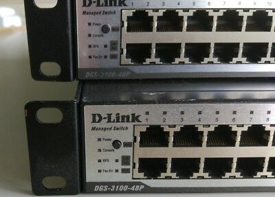 SWITCH 1Gb DLINK 3100 48P PoE