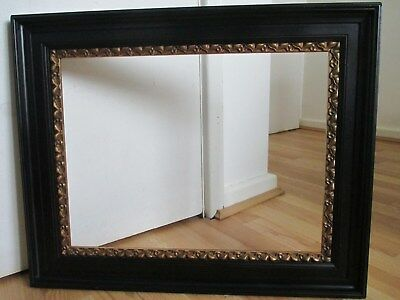 Beautiful 19th Century Ebonised Frame with Gilt Rim for Picture - Painting