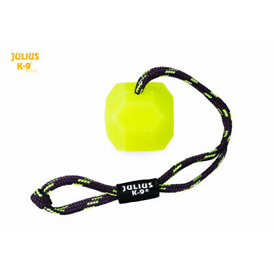 Julius-K9 IDC® Dog Puppy Neon Fluorescent Ball Toy Soft Training Chew Toy