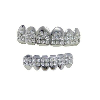 Grillz alto & basso VIP ultimo Hiphop bling Grillz Set