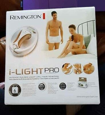 Remington i-Light PRO intense pulsed light hair removal unisex IPL6000