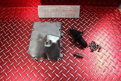 06 -16 Gsxr 600 750 Oem Oil Pan W Pick Up & Bolts No Leaks Has Marks Gx153