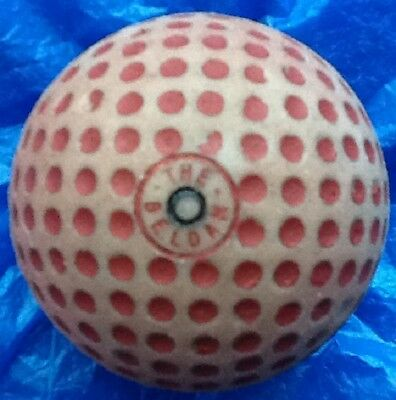 VERY SCARCE THE BELDAM GOLF BALL c1921