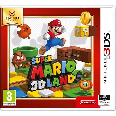 Super Mario 3D Land Game 3DS (Selects) - Brand New!