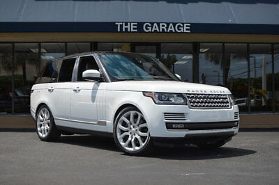 2014 Land Rover Range Rover 4WD 4dr Supercharged '14 Land Rover Range Rover,510HP,22
