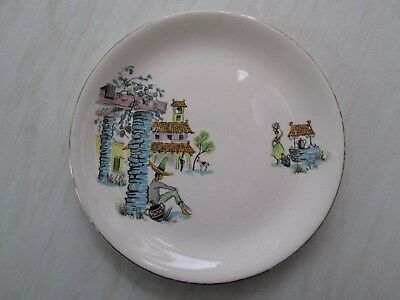 Alfred Meakin side plate in the Siesta Mexican design