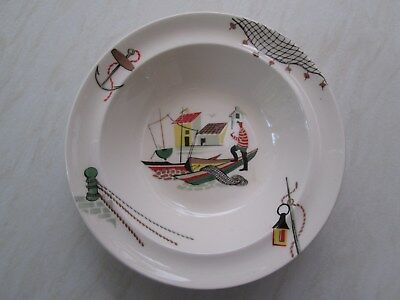 Alfred Meakin dessert bowl or fruit dish in the Brixham fisherman design