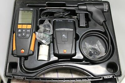 Testo 310 Flue Gas Combustion Analyzer Kit with Printer And Hard Case