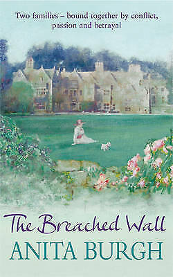 Breached Wall by Anita Burgh (Paperback)