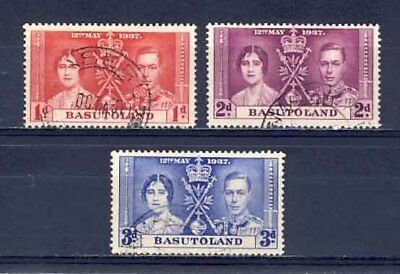1937-Coronation-Basutoland-Used