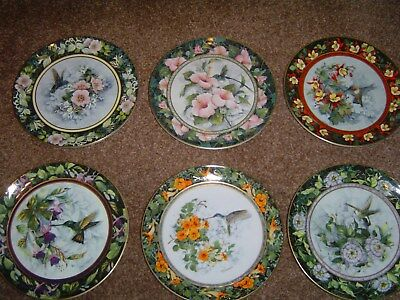 Royal Doulton Humming bird plates