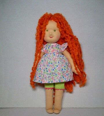New Kathe Kruse Waldorf Doll11 inches Red Hair with outfit NEW