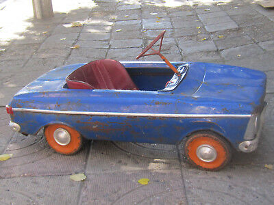 VERY RARE  Vintage Russian Metal Pedal CAR MOSKVICH MOSKVITCH МОСКВИЧ 1977's