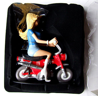 Neuf - Joe Bar Team Moto Figurine - Stephanie Barre Honda Dax