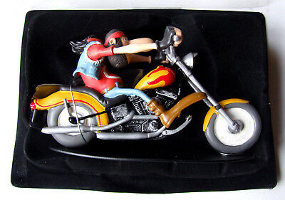 Neuf - Joe Bar Team Moto Figurine - Alban Bideau Harley 1340 Softail