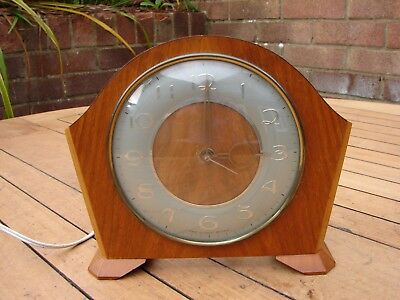 Smiths Electric Mantle Clock 1960s Spares / Repairs GSP