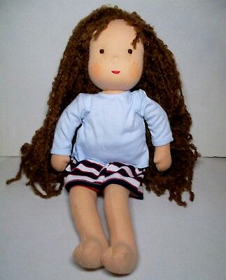 New Kathe Kruse Waldorf Doll 15 inches  with outfit NEW