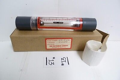 Nos King Instrument Company Flowmeter: 0.5-5 Gpm K71-3-Eh -#13