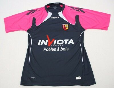 Rc Lens Away Football Shirt Adult Medium By Reebok