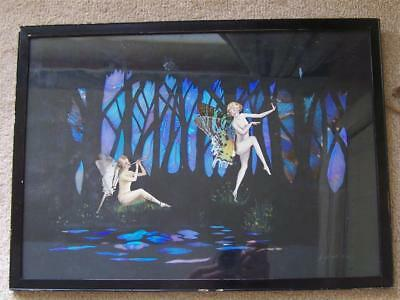 Rare Spafs Large Butterfly Wing Naked Fairies / Fairy Picture