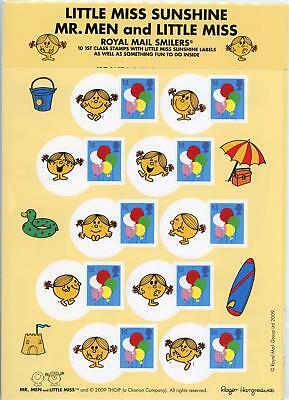 GB 2009 Three x Smilers For Kids Packs each with 10 x 1st Class Stamps FV £19.50