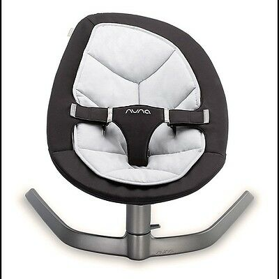 NUNA LEAF Rocker - Twilight - Eco Smart Design Swaying Baby Seat Cordless