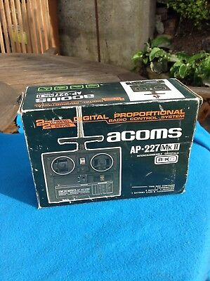 Vintage Boxed Unused Acoms RC Handset Servos Etc ,Tamiya Sandscorcher,hi Lux Etc